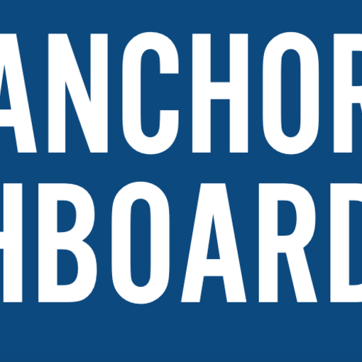 The Anchor Dashboard screenshot