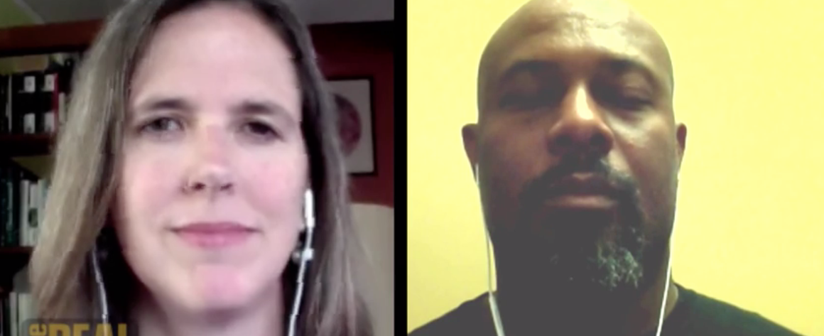 Hilary Abell and Kali Akuno talk with The Real News about scaling worker cooperatives Screenshot